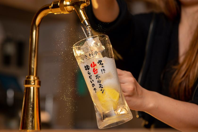 「0秒レモンサワー® 仙台ホルモン焼肉酒場 ときわ亭」の0秒レモンサワー