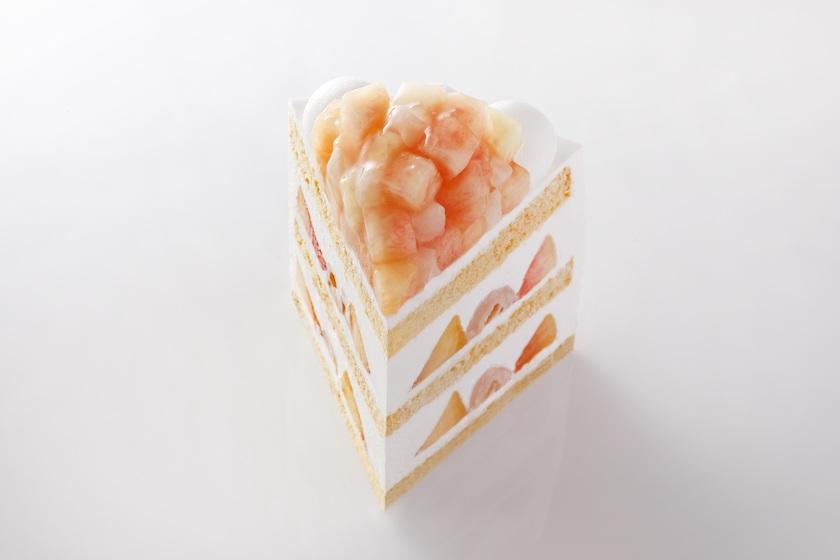 ホテルニューオータニの期間限定商品「新エクストラスーパーピーチショートケーキ」