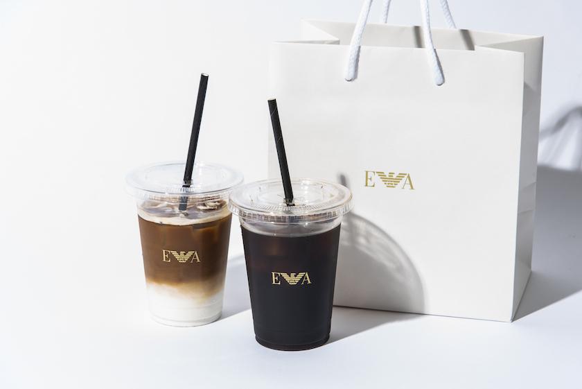 エンポリオ アルマーニ カフェのテイクアウト商品(アイス)