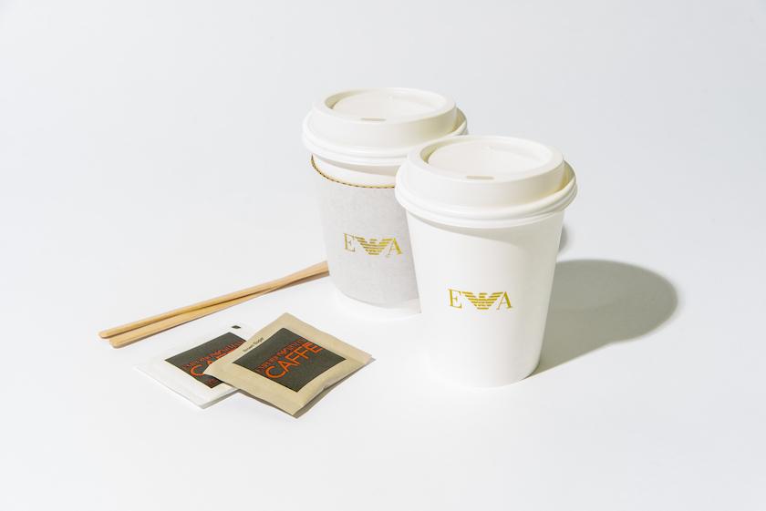 エンポリオ アルマーニ カフェのテイクアウト商品(ホット)