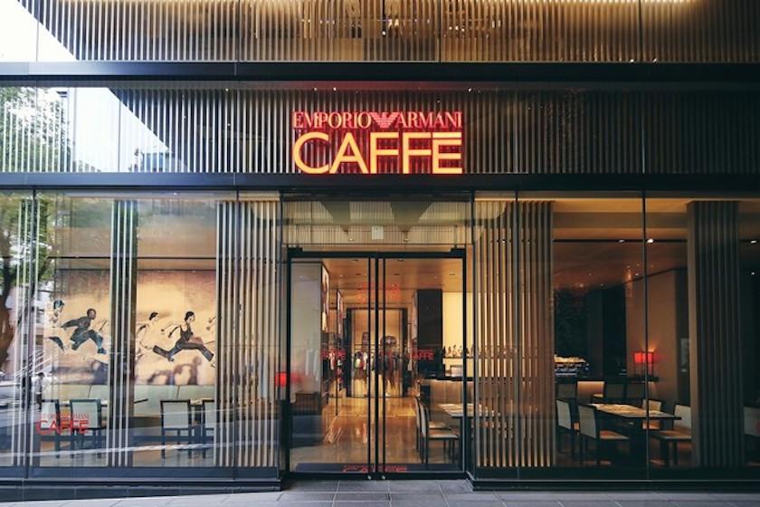 エンポリオ アルマーニ カフェ 表参道店