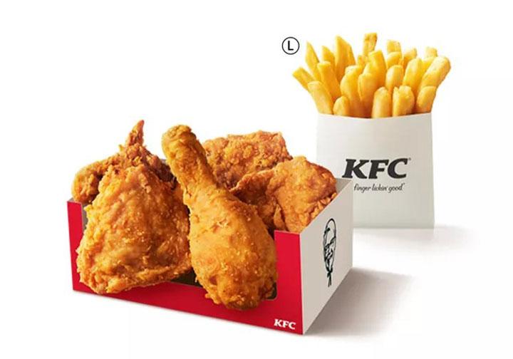 お盆パック 1500円(税込) KFC公式HPより