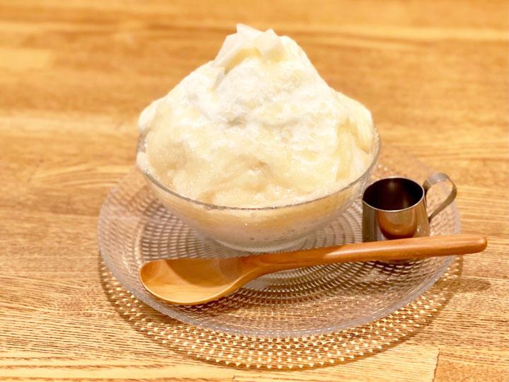 桃ミルクかき氷 1,200(税込)