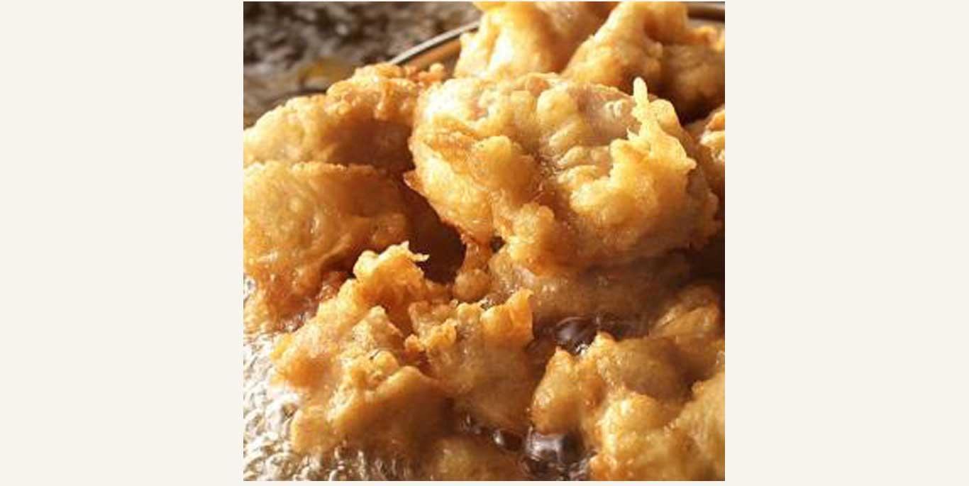 丸亀製麺「タル鶏天ぶっかけうどん」の鶏天