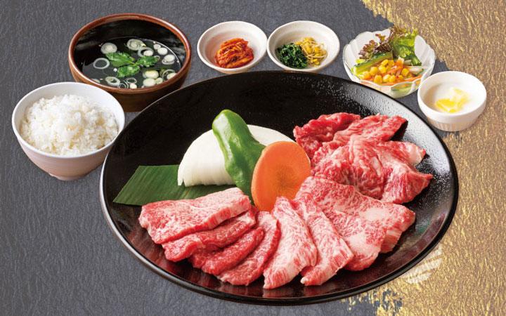 贅沢 黒毛和牛定食 2,618円(税込)<150g>