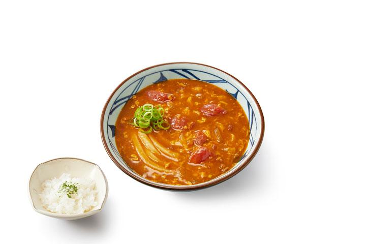 トマたまカレーうどん(並) 690円(税込)