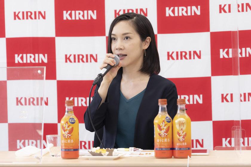 キリン飲料開発担当主任の鈴木梢さん