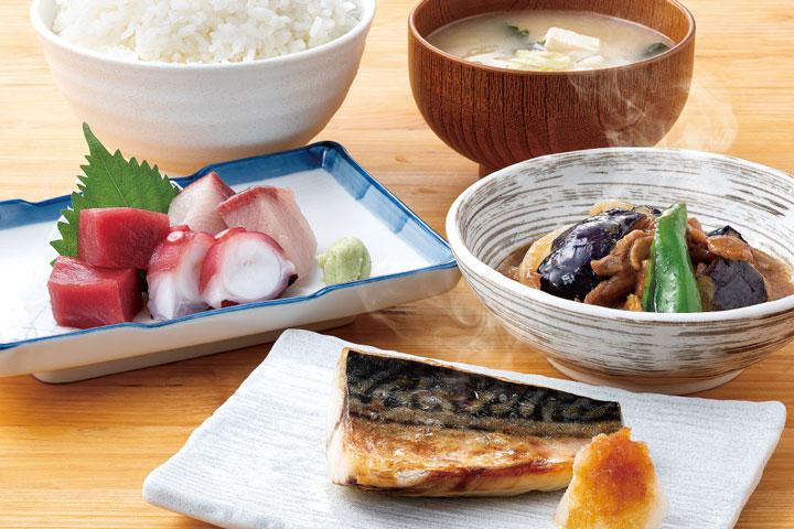 「和食セット(1000円)」