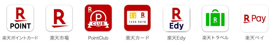 楽天ポイントカード機能付きのアプリ