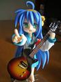 [らき☆すた][フィギュア]ギターは「BECKギターコレクション4th Stage」のレスポールジュニア