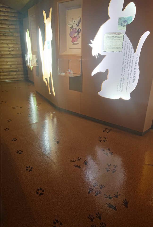 宮沢賢治童話村 動物の教室内部
