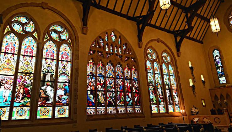 那須ステンドグラス美術館 セント・ラファエル礼拝堂