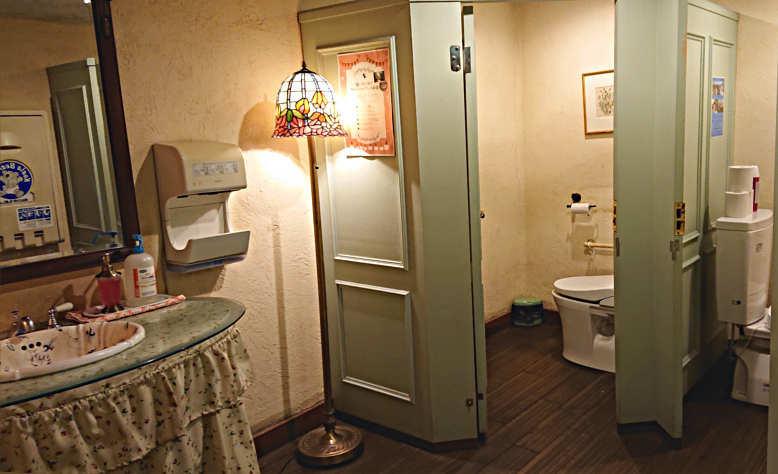 那須ステンドグラス美術館 トイレ