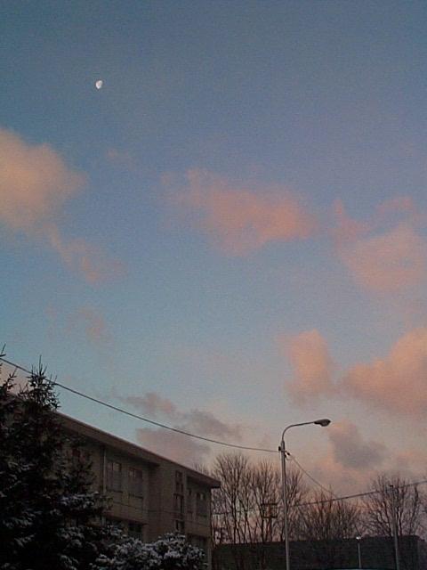 夜明けの空の写真
