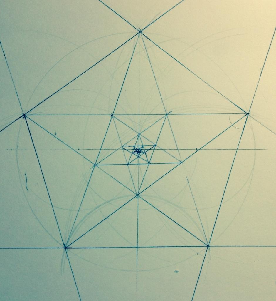 五芒星の図
