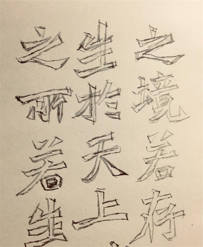 龍門造像記の箱書き画像