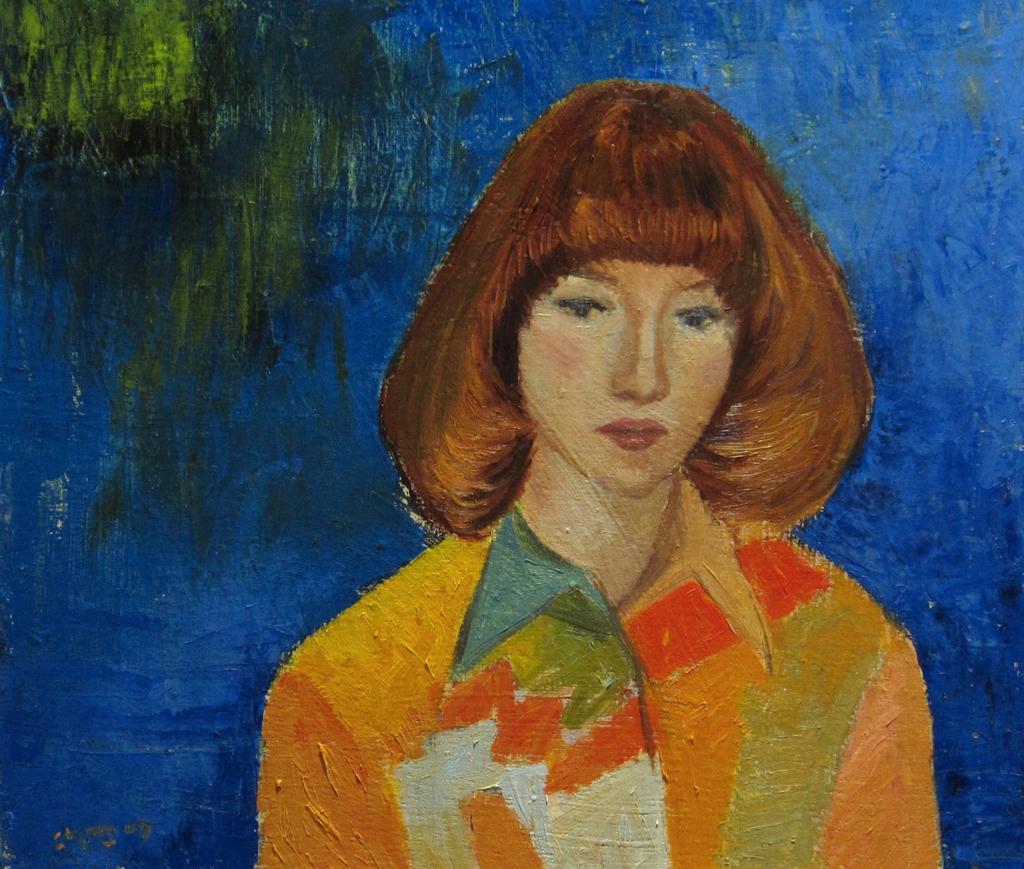 70年代の女の子の絵
