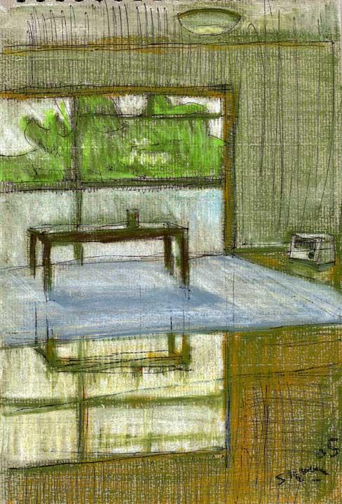 ある部屋の絵