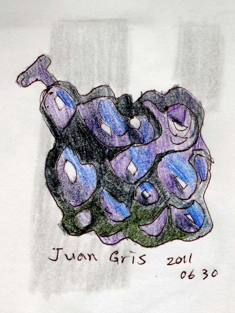 フアン・グリスの絵を模写した絵