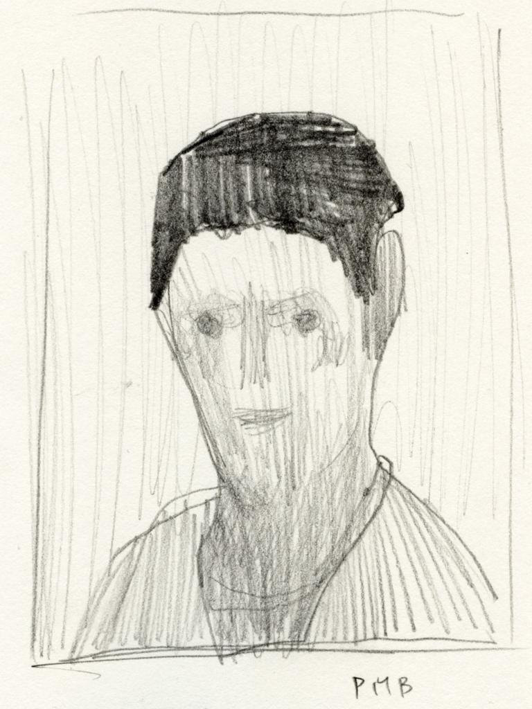 パウラ・モーダーゾーン・ベッカーの絵の模写