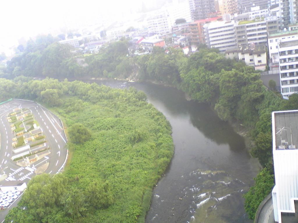 仙台街中の広瀬川の写真