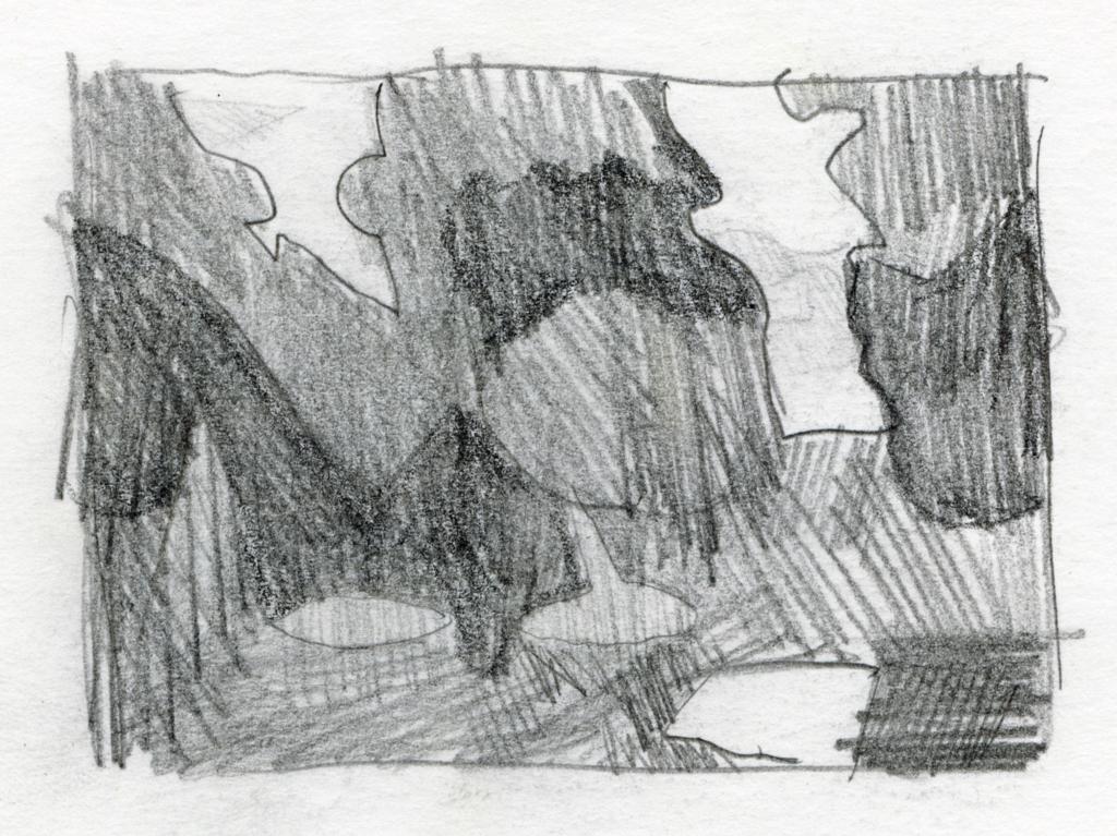 コンスタン・デュティユーの絵の模写