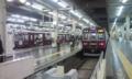 あずき色の阪急電鉄ともお別れー。