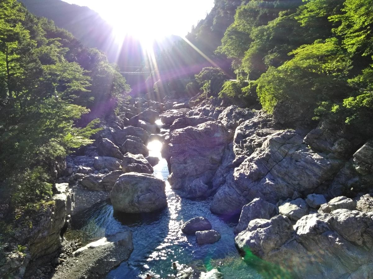 みたらい渓谷1