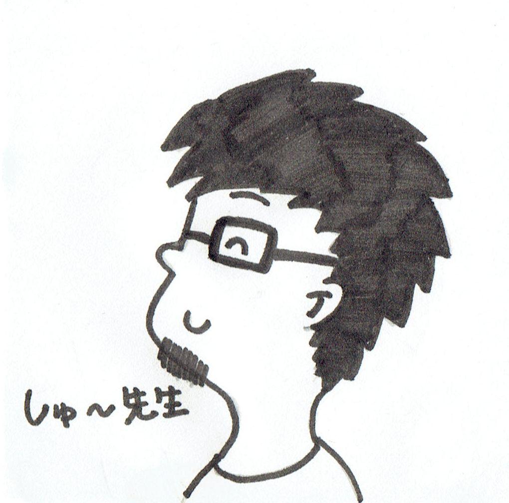 僕の似顔絵1