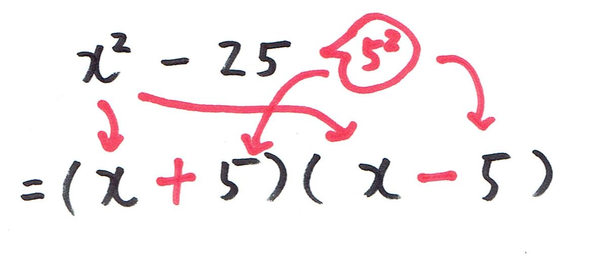 2乗の公式その1