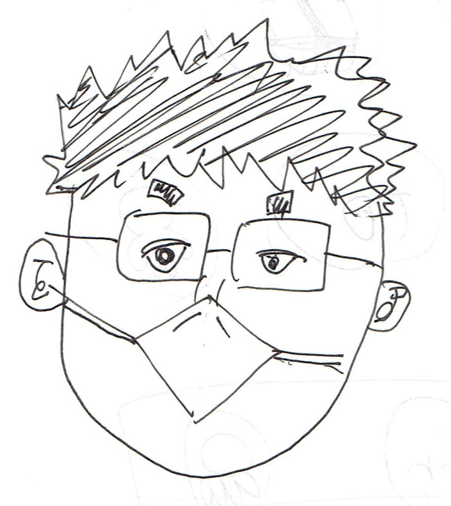 僕の似顔絵3