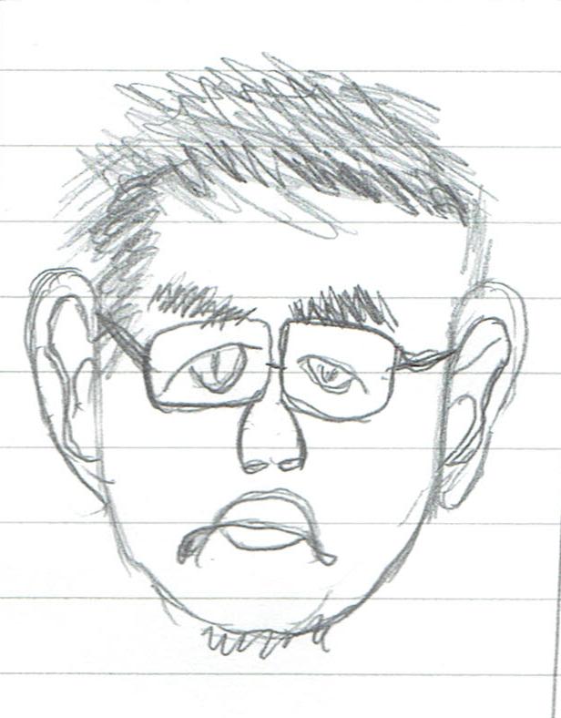 僕の似顔絵2