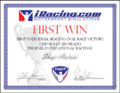 iRacing.com Award for Oval First WIN in Chevy Silverado at Phoenix