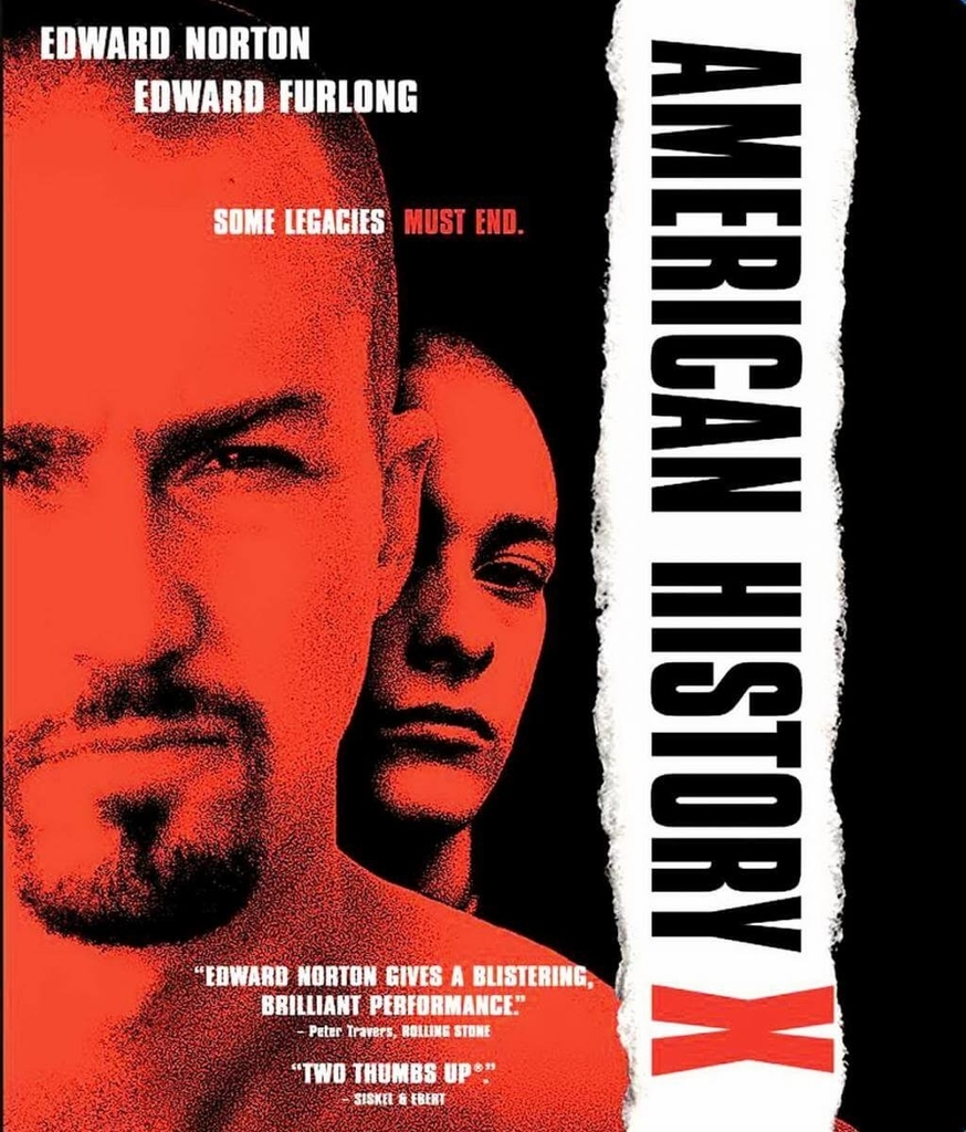 poater of movie american history x