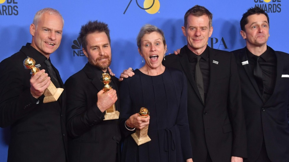 academy awards of 2018 and crew of Three Billboards Outside Ebbing, Missouri
