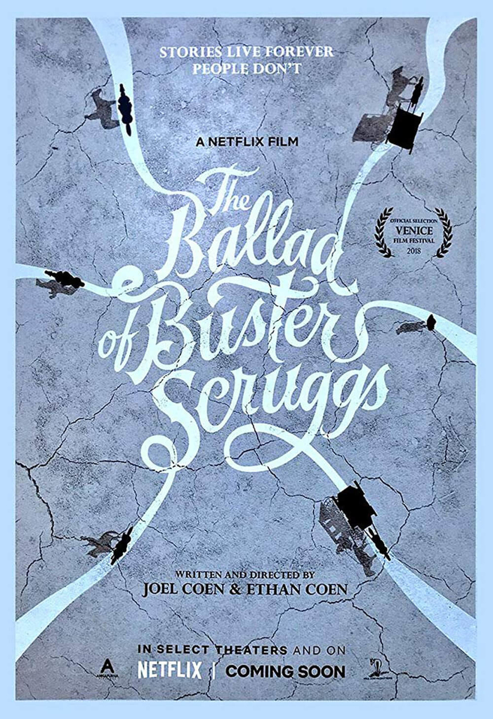 poster of The Ballad of Buster Scruggs