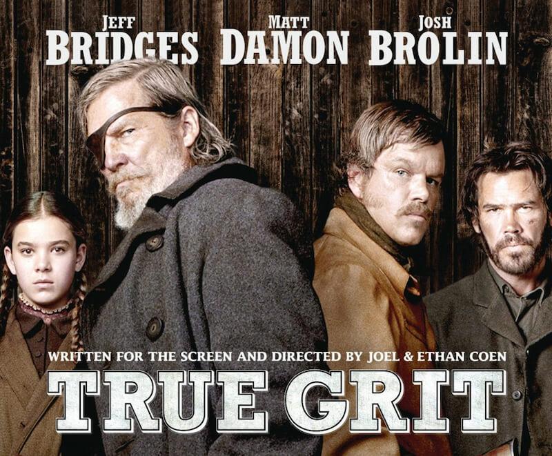 poster of true grit(Coen version)