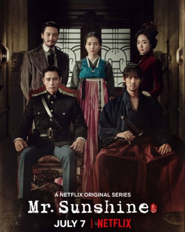 poster of korean Mr.Sunshine
