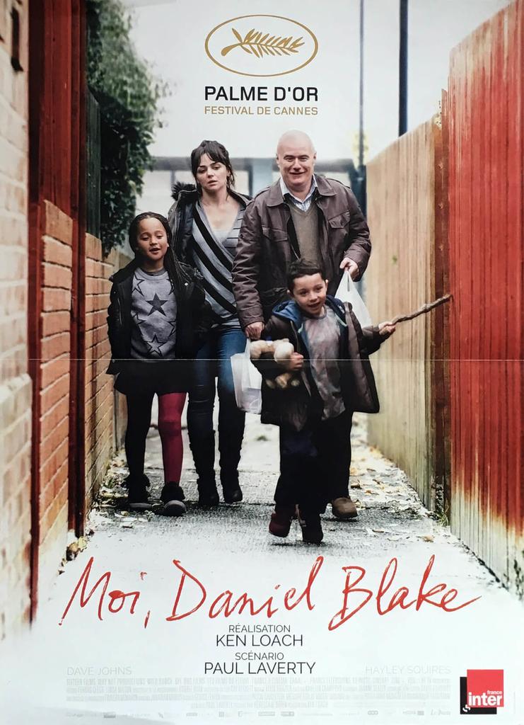 poster of I Daniel Blake