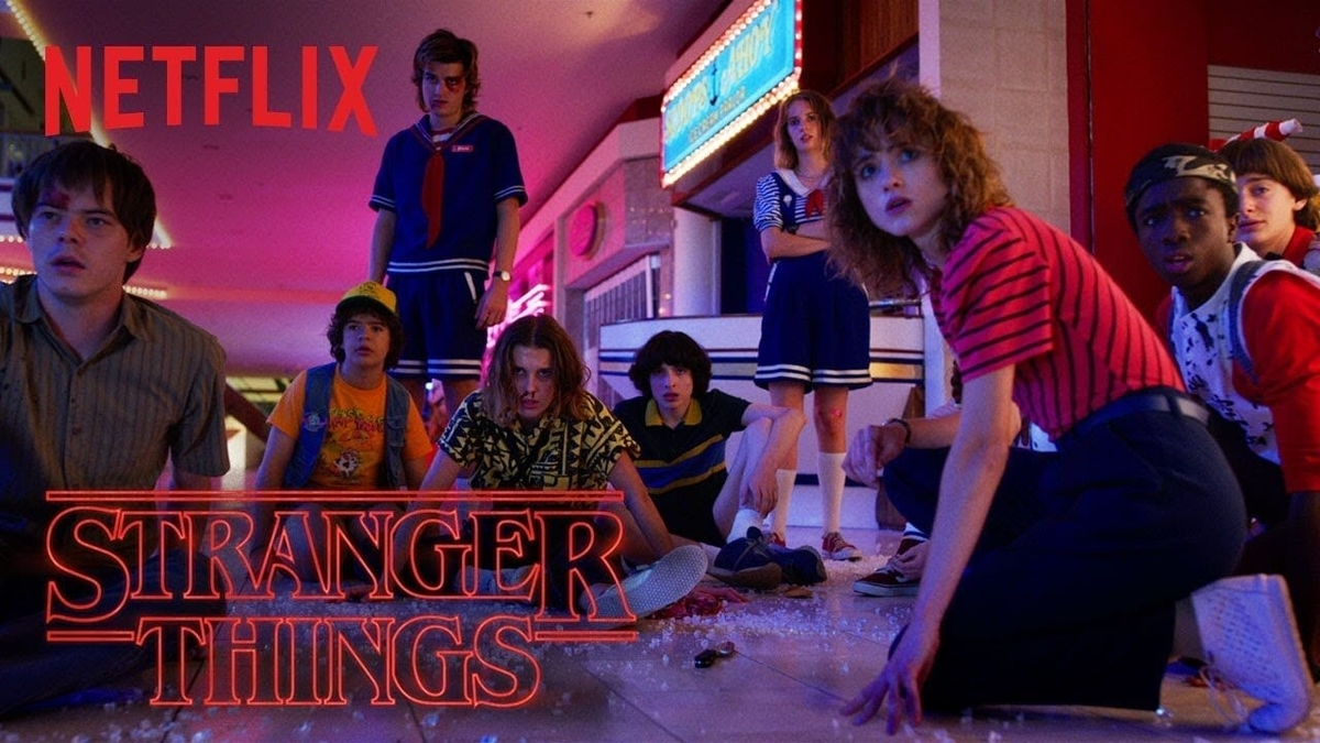 poster of stranger things series 3