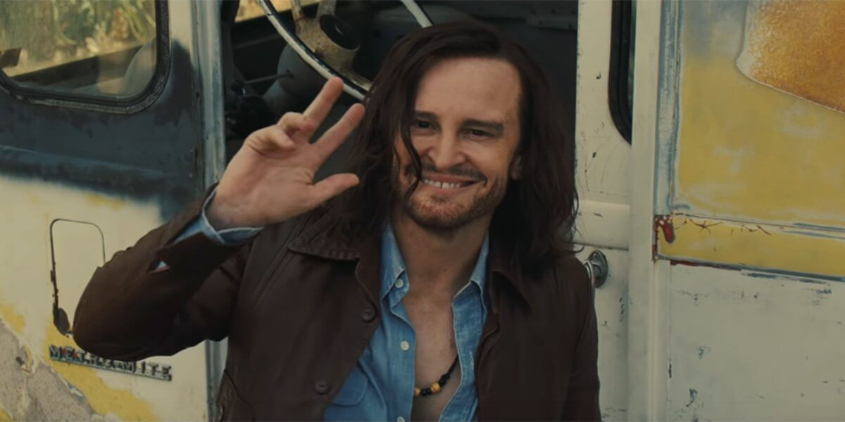 Charles Manson from the moive once upon a time in hollywood