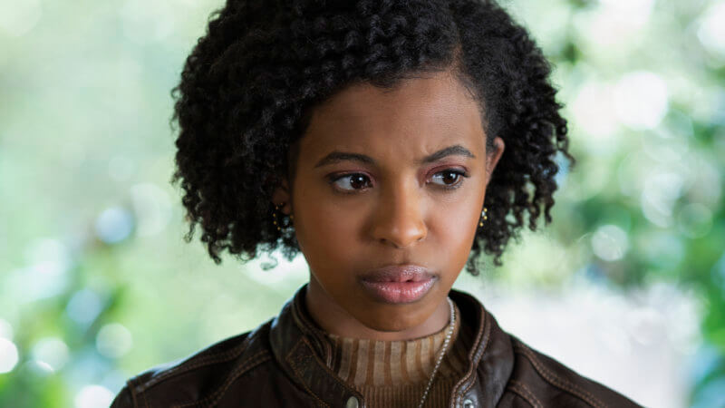 Ani who is new black girl in this high from the scene of tv show 13 reasons why season 3