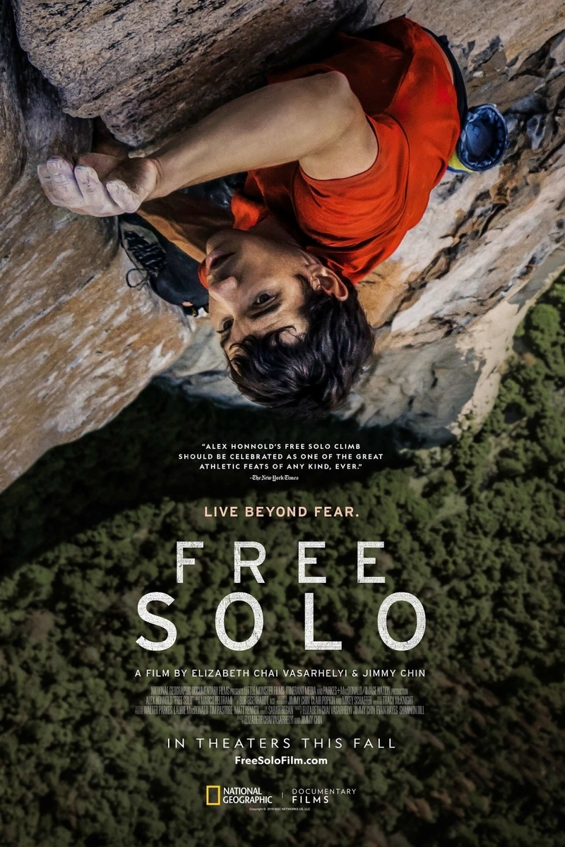 poster of documentary Free Solo
