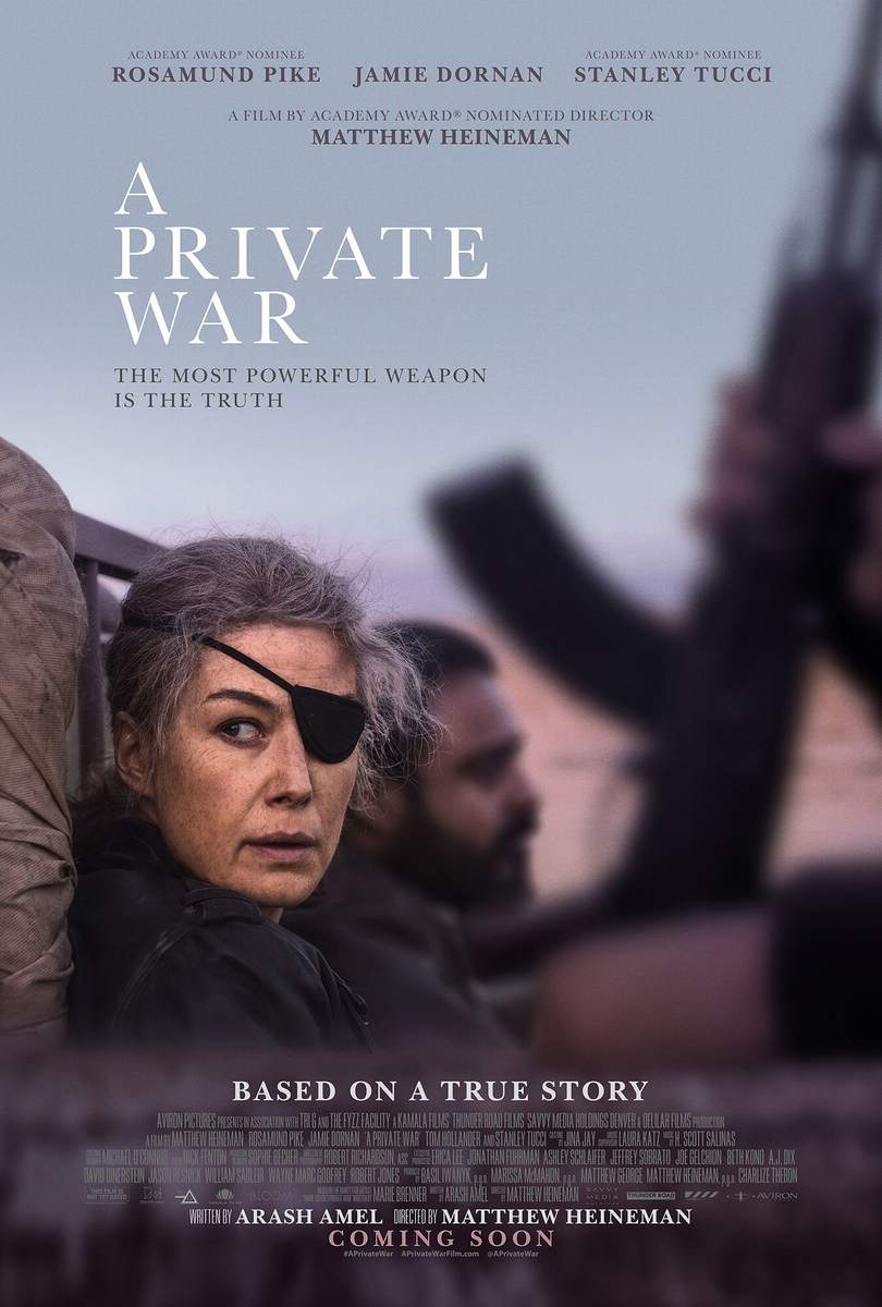 poster of movie A private War