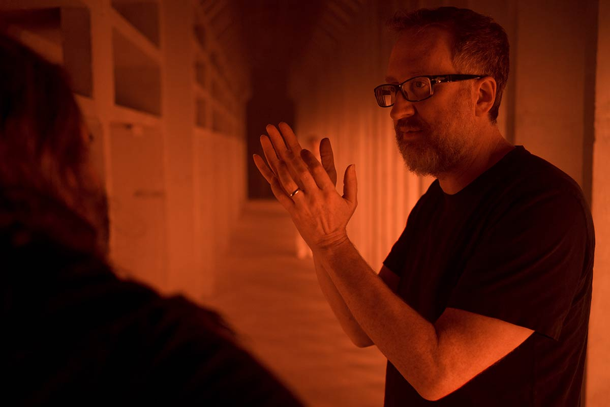 James Gray who is director of As Astra