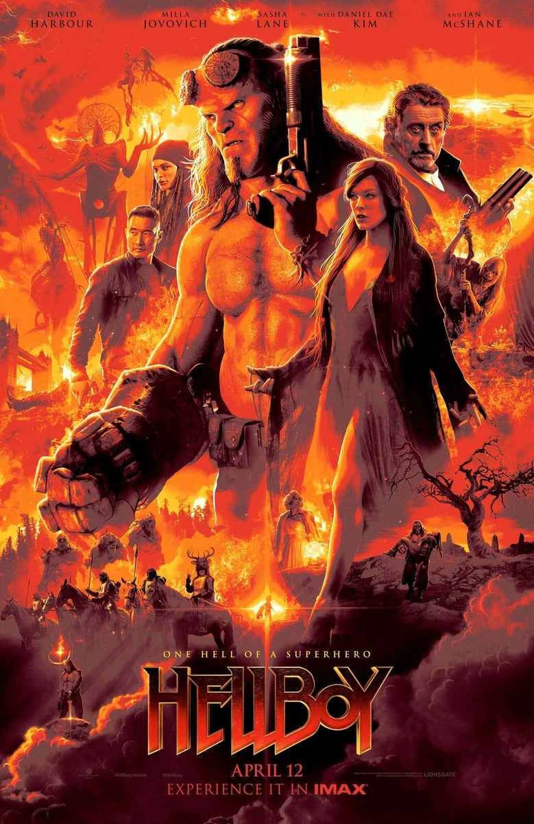 poster of hellboy 2019