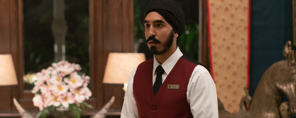main character who works in expensive hotel from the scene of Hotel Mumbai