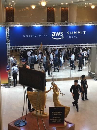 AWS Summit 受付ブース