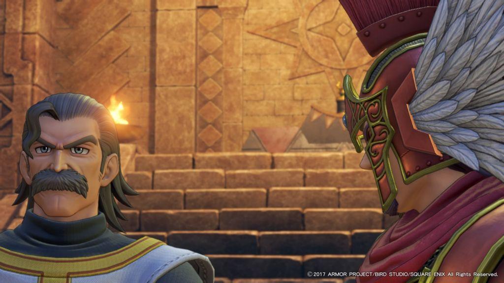 ドラクエ11のデルカダール神殿にいるジエーゴ