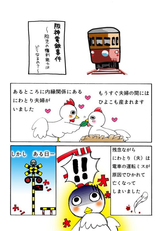 阪神電鉄事件解説マンガ1ページ
